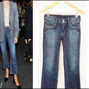 C of H Stretch Crop Jeans